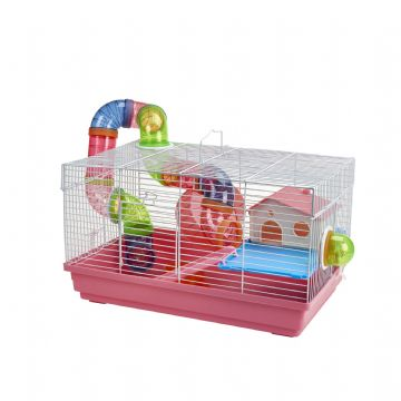 Pet Ting Pink Sage Rodent Cage
